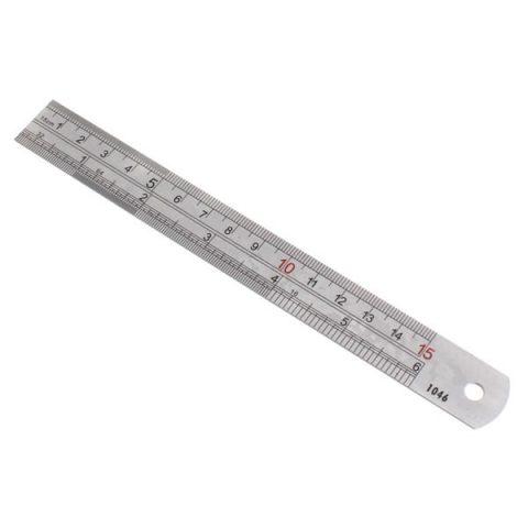 150mm (6″) Stainless Steel Ruler