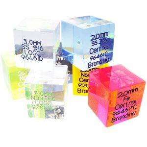 Acrylic Test Cube